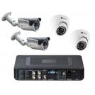 Комплекты на 4 камеры