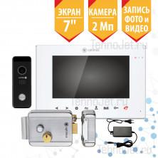 """Комплект AHD видеодомофона с замком, экран 7"""", 2Мп """"Эксперт"""""""